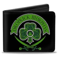Dropkick Murphys Crest Black Greens Bi Fold Wallet - One Size Fits most