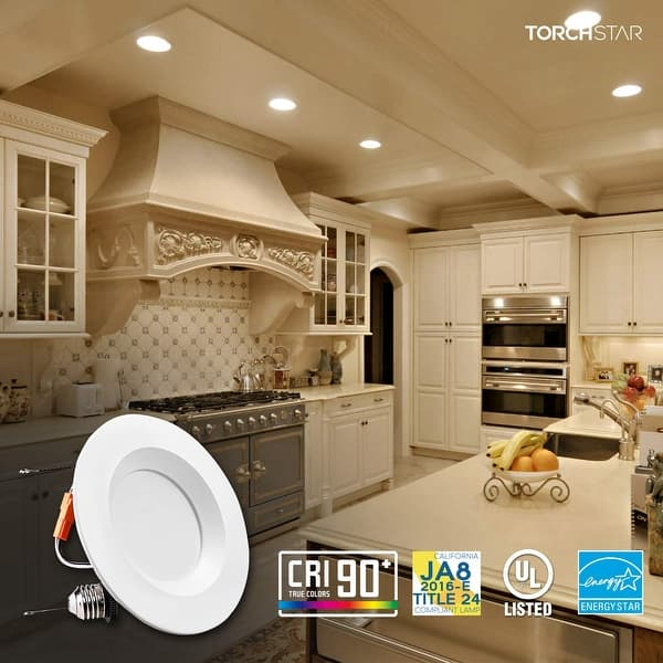 24 Pack 5 6inch 15w Dimmable Led Retrofit Recessed