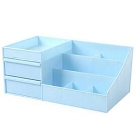Drawer Type Organizer Cosmetic Storage Box 3127 L Blue