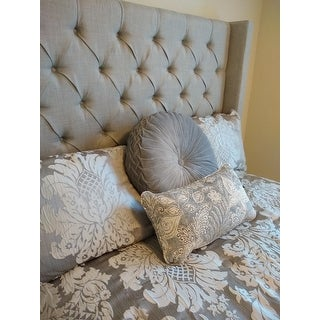 Five Queens Court Carly Woven Jacquard 4-piece Comforter Set