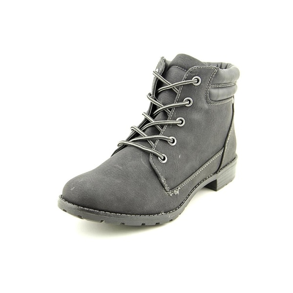 Sporto Lexi Women Round Toe Synthetic Black Work Boot
