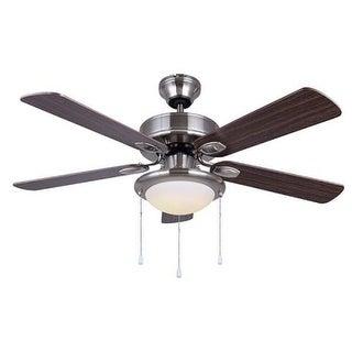 Canarm CF42REX5 (REX) Rex Single Light 5 Blade Integrated LED Hugger Ceiling Fan