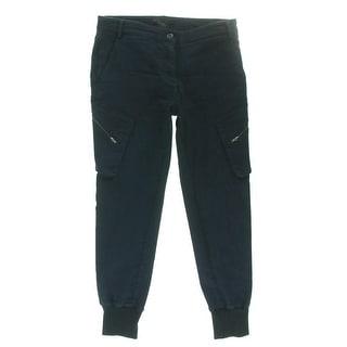 James Jeans Womens Slouchy Fit Boyfriend Cargo Pants - 28