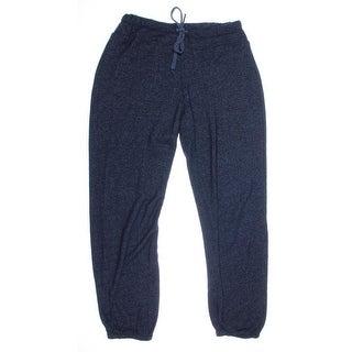 Splendid Womens Jogger Flat Front Sweat Pants - M