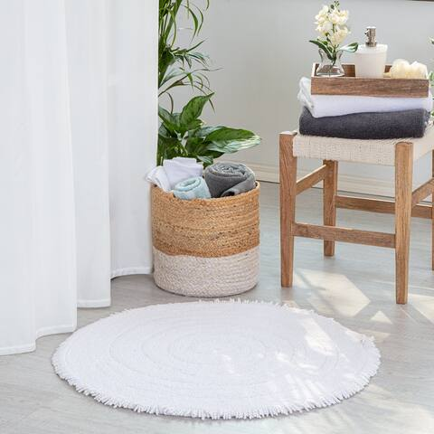 Hartley Solid Cotton Bath Mat