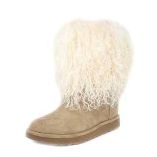 fluffy boots ugg