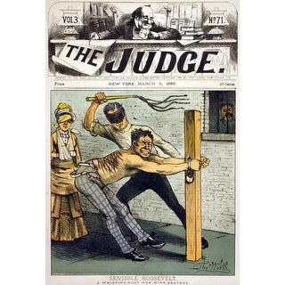 Shop Theodore Roosevelt Advocated A Whipping Post For Men
