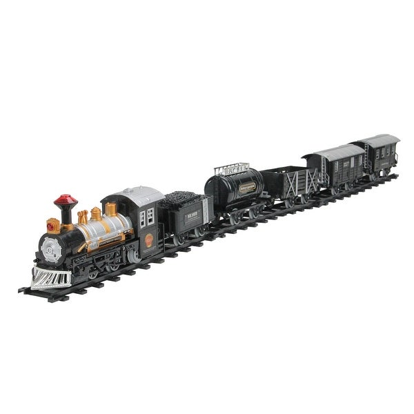 17-Piece Consumate Model B/O Animated Classic Train Set with Sound