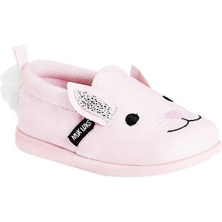 MUK LUKS Children's Bonnie the Bunny Shoe Pink Polyester