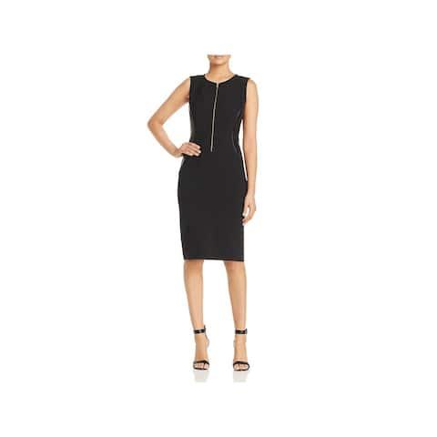 Donna Karan Womens Sheath Dress Party Sleeveless