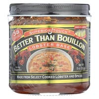 Better Than Bouillon Seasoning - Lobster Base - Case of 6 - 8 oz.
