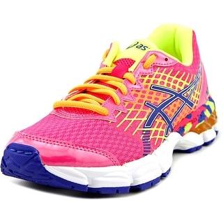 Asics Gel-Nimbus 17 GS Round Toe Synthetic Running Shoe