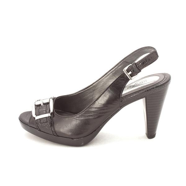 Alfani Womens Corbel Peep Toe Ankle Strap Mary Jane Pumps - 5.5