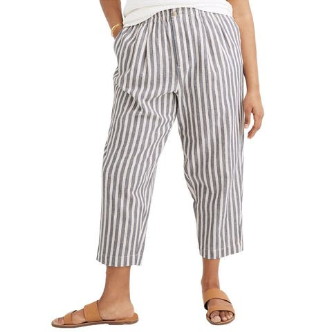 Madewell Track Linen-Blend Trouser