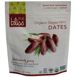 Fruit Bliss - Dried Deglet Dates ( 6 - 5 oz bags)