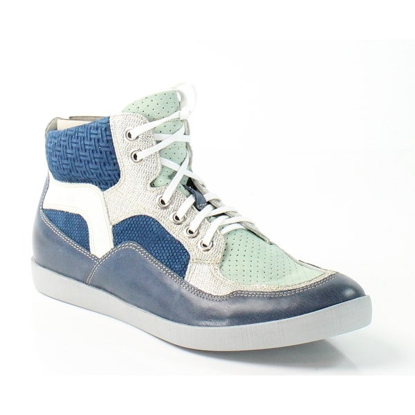 Think! NEW Blue Seas Damen Size 7M Fashion Sneakers Leather Shoes