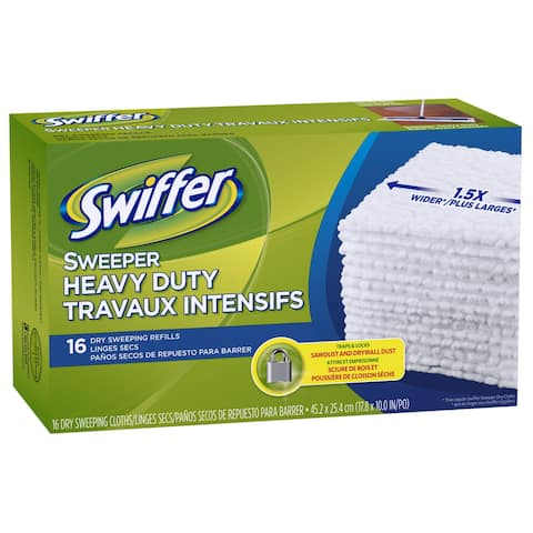 Swiffer 33903 Sweeper Disposable Sweeping Cloths, 16 Count