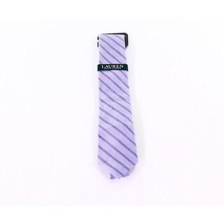 Lauren by Ralph Lauren NEW Purple Men's One Size Striped Neck Tie