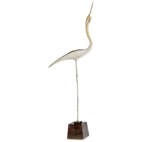 Cyan Design 09778 Shorebird Aluminum Bird Statue