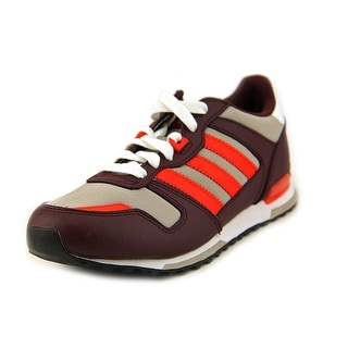 Adidas ZX 700k Youth Round Toe Canvas Brown Sneakers