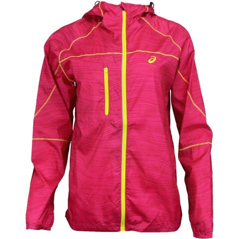ASICS Fujitrail Packable Jacket Womens Outdoor Jacket Lightweight -