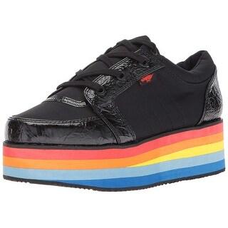 Rocket Dog Women's Reagle Dash Nylon/Moonwalk Pu Fashion Sneaker - 6.5