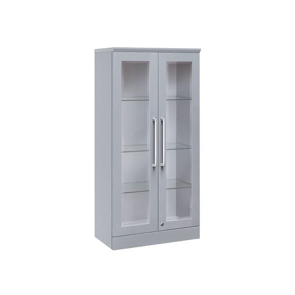 Shop Newage Products Home Bar Series Tall Wall Cabinet Free