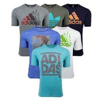 adidas Men's Mystery T-Shirts 2-Pack - Assorted