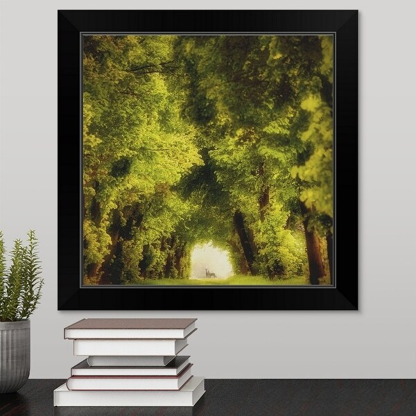 """Spring Time"" Black Framed Print"
