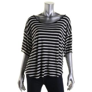 Denim & Supply Ralph Lauren Womens Modal Striped Pullover Top - XS