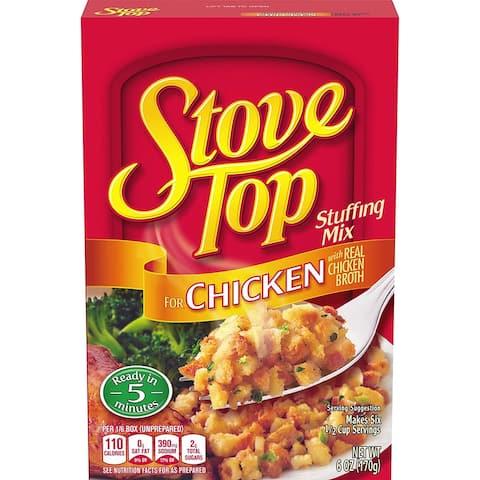Stove Top Chicken Stuffing Mix 6 oz - 6 Oz