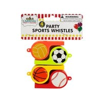 Party Sports Whistles - Pack of 24