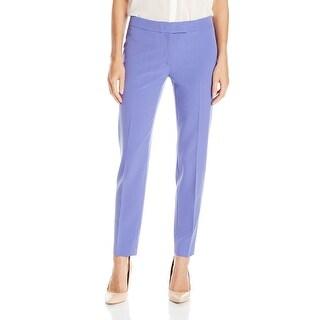 Anne Klein NEW Purple Chicory Women's Size 14 Ankle Dress Pants