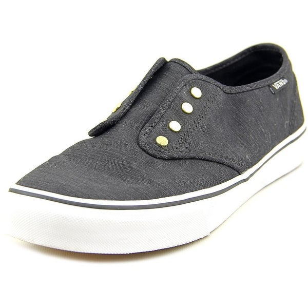 Vans Camden Stud Gore Women Round Toe Canvas Black Sneakers