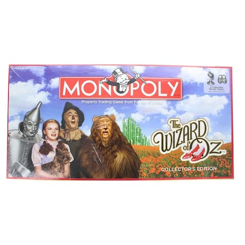 The Wizard of Oz Collectors Edition Monopoly Board Game - Multi