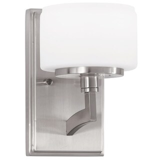 "Park Harbor PHVL2181 Haverford 8"" Tall Single Light Bathroom Fixture"