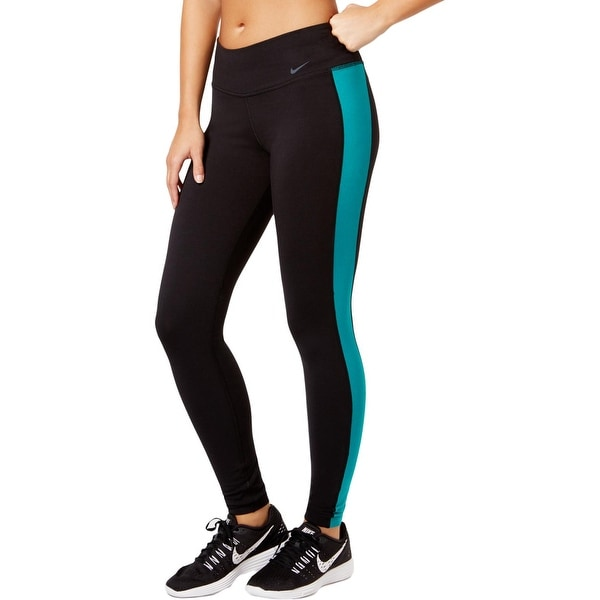 cf7ab966bf731 Shop Nike Womens Athletic Leggings DRI-FIT Tight Fit - Free Shipping ...