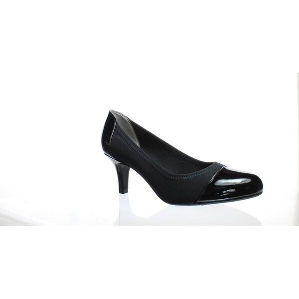 299e7f60ce2f Shop LifeStride Womens Parigi Black Pumps Size 9 (2E) - Free ...