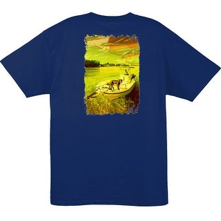 Guy Harvey Mens Short Sleeve Milo Shirt