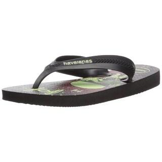 Havaianas Boys havaianas T-Strap Slip On Flip Flops