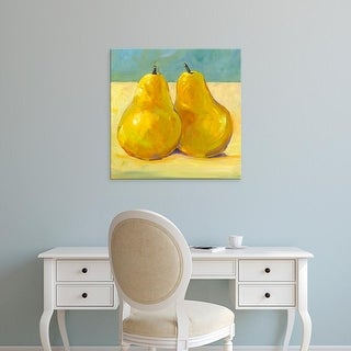 Easy Art Prints Tim OToole's 'A Pair of Pears' Premium Canvas Art