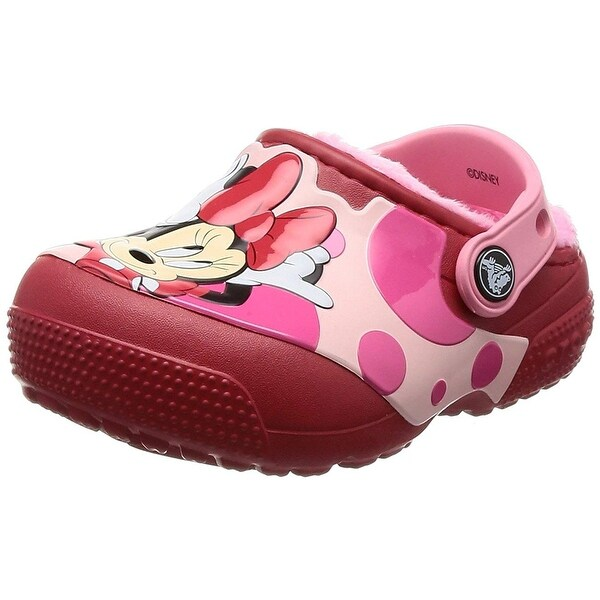 c668554d6a43e Shop Crocs Kids  Fun Lab Lined Minnie Mouse Clog - 2 m us little kid ...