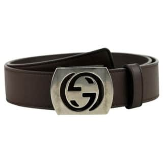 96e157e96c00 Buy Gucci Men s Belts Online at Overstock