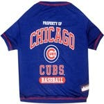 MLB Chicago Cubs Pet Tee Shirt|https://ak1.ostkcdn.com/images/products/is/images/direct/7b36b574c39c6e65142b67b8a81ffb0f9d7da583/MLB-Chicago-Cubs-Pet-Tee-Shirt.jpg?impolicy=medium