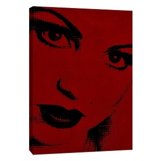 """PTM Images 9-105337  PTM Canvas Collection 10"""" x 8"""" - """"Girl B1"""" Giclee Women Art Print on Canvas"""