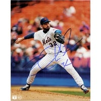 Signed Wilson Paul New York Mets 8x10 autographed