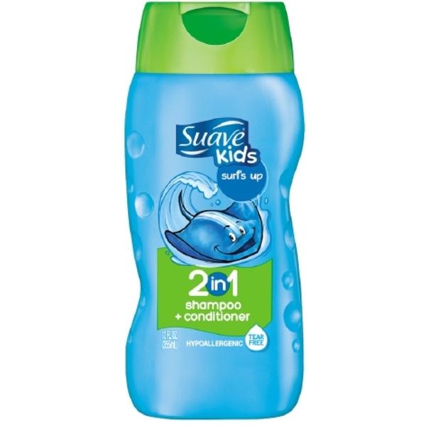 Suave Kids 2-in-1 Shampoo Surf's Up 12 oz