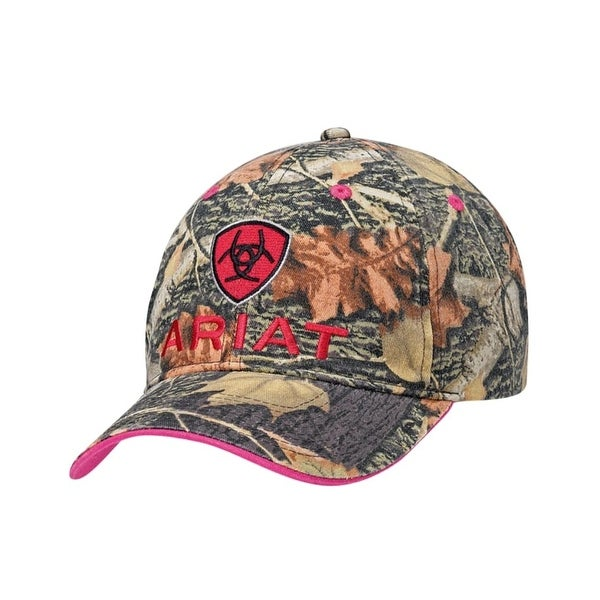 Shop Ariat Hat Womens Baseball Cap Mossy Oak One Size Beige - Free Shipping  On Orders Over  45 - Overstock - 20100673 8357ec433f9