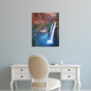 Easy Art Prints Charles Gurche's 'Havasu Falls' Premium Canvas Art