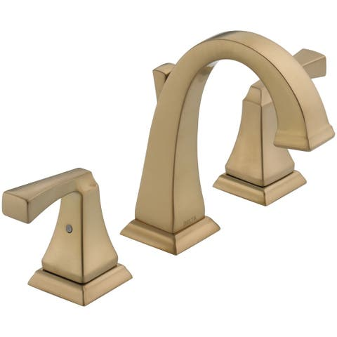 Delta 3551-MPU-DST Dryden 1.2 GPM Widespread Bathroom Faucet with